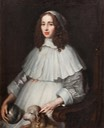 1648 or 1651 Anna Margareta von Haugwitz by Matthaeus Merian the Younger (Skokloster slott - Uppsala, Uppsala (County), Sweden) Google Art Project via Wm