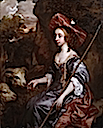 1650s Anne Crane, Lady Belasyse of Worlaby (d.1662) as a Shepherdess by Lely (Philip Mould)