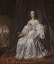 1652 Mary, Princess of Orange by Bartholomeus van der Helst and Johannes Lingelbach (Rijksmuseum - Amsterdam, Holland)