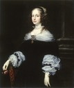 1654 Countess Teresa Dudley di Carpegna by Justus Sustermans (Walters Museum - Baltimore, Maryland USA)