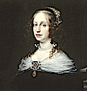 1654 Countess Teresa Dudley di Carpegna by Justus Sustermans (Walters Museum - Baltimore, Maryland USA) head and fichu