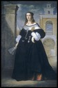 1655-1660 Margherita, wife of Baldassare Vandergoes by Luigi Primo (Walters Museum of Art - Baltimore, Maryland, USA) From the museum's Web site via pinterest.com:mwojdak:17th-century-fashion: shadows