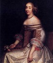 1655 Anne Marie Louise d'Orléans by Charles Beaubrun (Museo Nacional del Prado - Madrid, Spain)