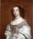 1655ca. Queen Catherine of Braganza by Lely studio (Philip Mould)