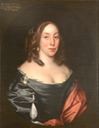 1659 (after) Mary Fairfax, Duchess of Buckingham by John Michael Wright (location unknown to gogm) From nationaltrustcollections.org.uk-object-979347 trimmed