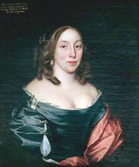 1659 (after) Mary Fairfax, Duchess of Buckingham by John Michael Wright (location unknown to gogm) From bjws.blogspot.com:2013 12 12 archive.html shadows inc. light