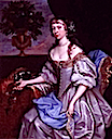1660 Elizabeth FitzGerald, née Holles, Countess of Kildare by John Michael Wright (location unknown to gogm)
