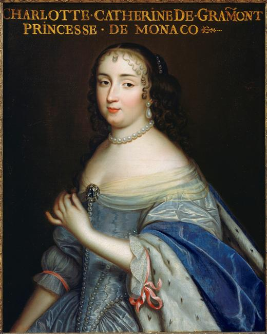1660 or later (estimated) Charlotte-Catherine de Gramont (1639-1678), Princesse de Monaco et Duchesse de Valentinois (Versailles) photo credit - Daniel Arnaudet:Gérard Blot