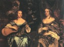 ca. 1660 Two Ladies of the Lake Family by Sir Peter Lely (Tate Collection, London)