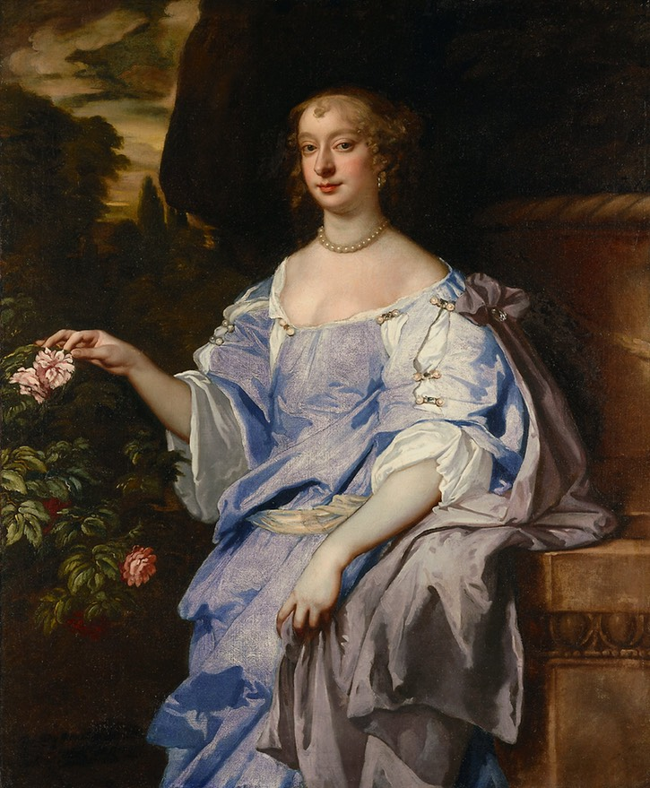 1660s (late) Lady Penelope Spencer by Sir Peter Lely (Minneapolis Institute of Art - Minneapolis, Minnesota, USA) Wm