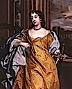 1660s Barbara Palmer (née Villiers), Duchess of Cleveland by Sir Peter Lely (National Portrait Gallery, London)