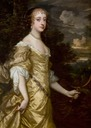 1662-1665 Frances Teresa Stuart by Sir Peter Lely (location unknown to gogm)