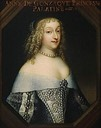 1663 (estimated) Anne de Gonzagues-Cleves Comtesse Palatine du Rhin by the Beaubrun brothers studio (Versailles)