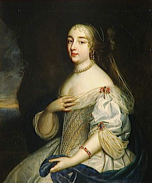 1663 or later (estimated) Gabrielle-Louise de Saint-Simon (1646-1684), duchesse de Brissac by Beaubrun Brothers studio (Versailles) photo credit - Daniel Arnaudet:Gérard Blot