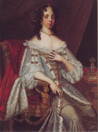1667 Queen Catherine of Braganza by Jacob Huysmans