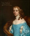 1670 Dudleia Cullum, née North, Lady Cullum by Sir Peter Lely (St Edmundsbury Museums - St Edmundsbury, Suffolk UK)