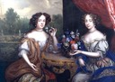 ca. 1670 Lady Anne Barrington and Lady Mary St John by Henri Gascar (Philip Mould)
