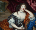 1672-1675 (some time in between) Louise Renée de Penancoët de Kéroualle, Duchess of Portsmouth (1649-1734) by Henri Gascars (Philip Mould - London, UK) trimmed