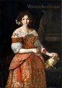 1672 Anna Cecilia Visconti by Carlo Ceresa (maniera di) (location unknown to gogm)