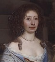 1673 Lady Vyner by John Michael Wright (outtake from image at National Portrait Gallery)