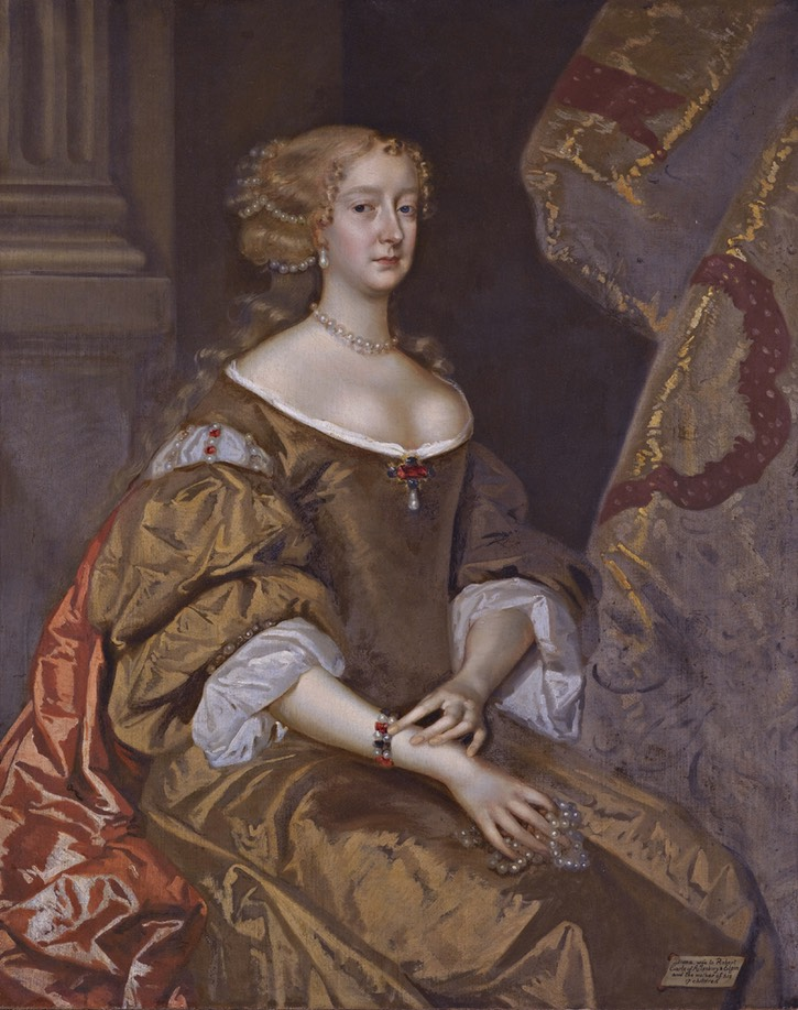1675 Diana, Countess of Ailesbury, née Diana Grey by Henri Gascars (auctioned by Sotheby's) Wm