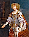 1675 Magdalena Sibylla von Hessen Darmstadt (1652-1712) wife of Duke Wilhelm Ludwig and guardian of the minor Eberhard Ludwig (Landesmuseum Württemberg, Stuttgart)