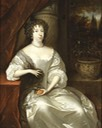 ca. 1675 Albertina Agnes, Princess of Nassau by Caspar Netscher (Crocker Museum, Sacramento California)