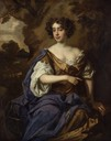 ca. 1675 Catherine (Sedley), Countess of Dorchester by Sir Peter Lely (National Portrait Gallery - London UK)