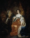1683 Princess Mary by Caspar Netscher (Hermitage)
