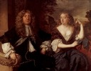 1679 John Maitland, 1st duke of Lauderdale, and his wife Elizabeth Murry, Duchess of Lauderdale by Sir Peter Lely (location unknown to gogm)