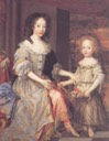 1679 Ladies Catherine and Charlotte Talbot by John Michael Wright (Tate Collection)