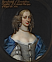 1681 Lady Mary Campbell, Countess of Breadalbane by David Scougal (auctioned by Sotheby's)