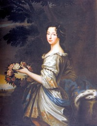 1684 Anne Marie d'Orléans, Princess of France and future Duchess of Savoy and Queen of Sardinia by Louis Ferdinand Elle (location unknown to gogm)
