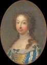 1685 Marie Anne Victoire, Dauphine of France by Jean Marie Ribou (location unknown to gogm)