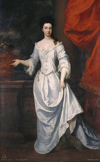 1690-1691 Margaret Cecil, Countess of Ranelagh by Sir Godfrey Kneller (Royal Collection - Hampton Court Palace) From Pinterest search X 1.5