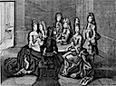 1694 playing cards at court