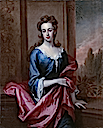 ca. 1696 Mary Calverley, Lady Sherard by Sir Godfrey Kneller (private collection)