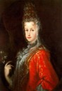 1702 María Luisa Gabriela de Saboya attributed to Miguel Jacinto Melendez (Royal Collection)