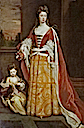 1705 Jemima de Grey, née Crew, Duchess of Kent and her daughter Lady Jemima Grey by Sir Godfrey Kneller (Wrest Park - Silsoe, Bedfordshire UK)