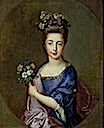 ca. 1705 Louisa Maria Stuart by Francois de Troy (The Drambuie Collection, Edinburgh)