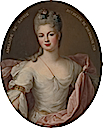 1710 Marie Adélaïde de Savoie by Pierre Gobert (Metropolitan Museum - New York City, New York USA)
