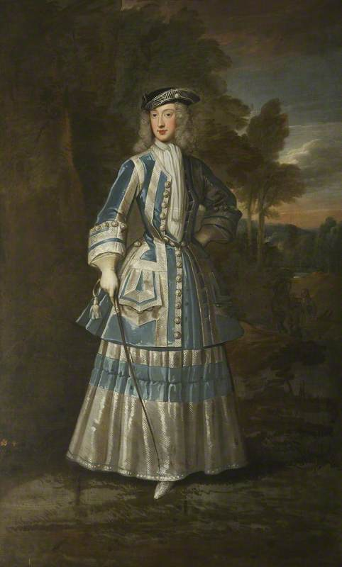 1714 Henrietta Cavendish Holles (1694–1755), Countess of Oxford by Sir Godfrey Kneller (Christ Church, University of Oxford - Oxford, Oxfordshire, UK) bbc.co