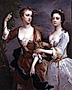 1716 Martha and Theresa Blount by Charles Jervas (private collection)