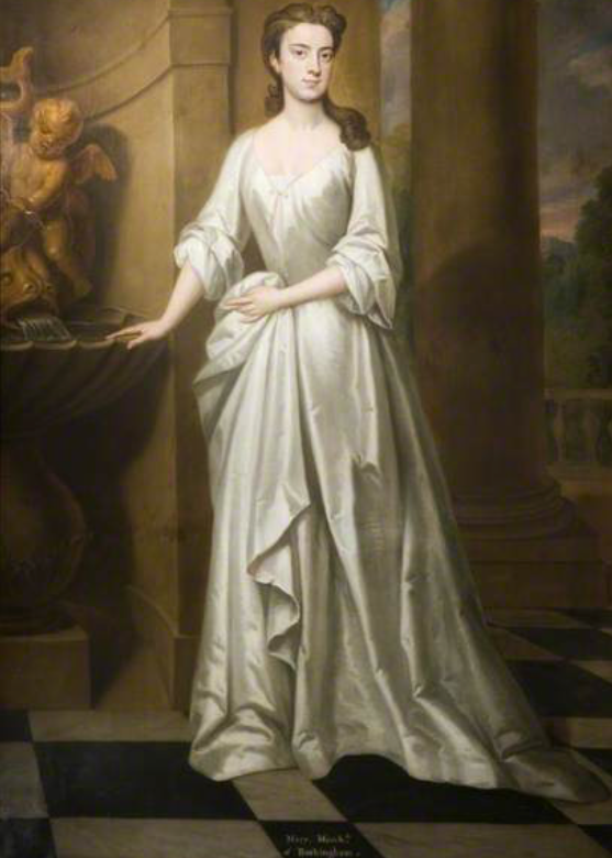 1720 Mary, Marchioness of Rockingham, née Bright by Sir Godfrey Kneller (Birmingham Museums and Art Gallery - Birmingham, UK) From the-athenaeum.org/art