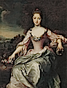 1720 Marie Anne de Bourbon Condé by Gustaf Lundberg (auctioned by Nordén Auktioner)