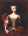 1720s Bárbara de Braganza, reina consorte de España attributed to Pierre-Antoine Quillard (Museu Nacional de Arte Antiga - Lisboa, Portugal) Wm UPGRADE  inc. temp reduced highlights shadows