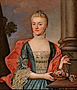 1720s Marianna Chmara née Wojna-Orańska (d. ca. 1730) by ? (National Arts Museum of the Republic of Belarus - Minsk Belarus)