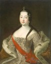 after 1721 Grand Princess Anna Petrovna by Ivan Grigoryevich Adolsky (Hermitage)