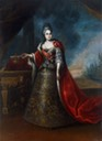 ca. 1724(?) Empress Catherine I in Louis XIV-style dress by ? (location unknown to gogm)