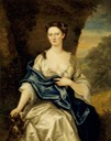 1729 Anne Stucley (d. 1731), Mrs. Francis Luttrell of Venn (?) by John Vanderbank (Dunster Castle - Dunster, Somerset UK)